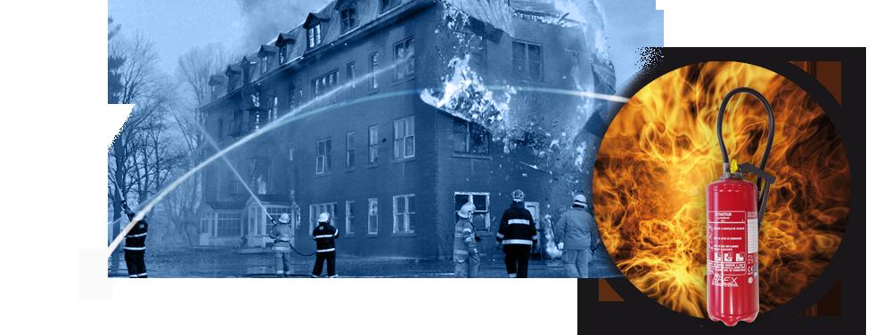 Bandeau extincteurs pompiers